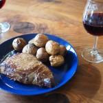 通販で購入した高級食材、オーシャンビーフ1ポンドステーキを焼いたが、採用した調理方法には後悔が残る
