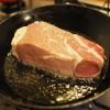 ハイ食材室のオーシャンビーフ1ポンドステーキに再チャレンジ。今回は成功だったか?